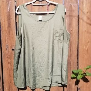 Faded Glory Olive Green Tank